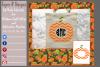 Pumpkin/ Monogram Pumpkin Frame Design File example image 7