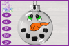 Snowman Face SVG | Christmas SVG | Ornament SVG | Bauble SVG example image 6