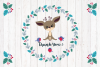 Cute Christmas Deer. Vector cliparts. example image 4