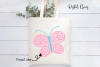 Butterfly SVG / DXF / EPS / PNG files example image 3