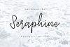 Seraphine - Handwritten Font example image 1