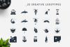 Double Exposure. 20 Creative Logos example image 4