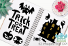 Halloween Silhouettes Clipart, Instant Download Vector Art example image 3