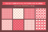 Valentine Seamless Patterns - Set 2 example image 3