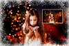 Download photo overlays, christmas winter frames PNG example image 4