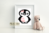 Penguin designs SVG / DXF / EPS / PNG Files example image 3