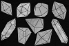 Silver Crystals Clipart example image 2
