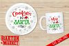 Cookies & Milk For Santa SVG / EPS / PNG 1 example image 1