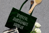 MEGA Bundle|Tote Bag Mockups with White Roses & Makeup Brush example image 5