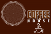 Coffee house emblem and items illustration. example image 3