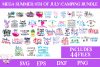 Summer, 4th of July, Camping Bundle - Includes 44 Files example image 1