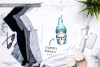 Watercolour Gnomes x 3 - Sublimation PNG Clipart example image 2