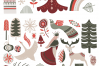 Nordic winter scandi christmas set example image 2