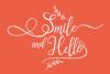 Sallisa - beautiful script font example image 10