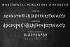 Monumental Purgatory - 3 Awesome Deathmetal Fonts example image 9