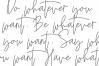 Saturday - Signature Script Font example image 4