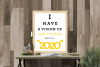 2020 Vision New Year SVG File example image 1