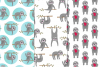Cute Sloth Illustrations & Patterns example image 2