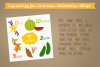 Alphabet with Fruits and Vegetables example image 4