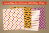 Halloween seamless patterns - set 2 example image 2