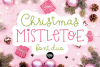 CHRISTMAS FONT BUNDLE - 4 Hand Lettered Christmas Fonts example image 8