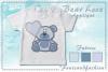 Bear Love_Appliquè example image 3