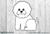 Cute Bichon Set by Digital Doodle Pad example image 3