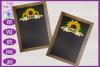 Sunflower Ribbon Banner SVG   Autumn SVG   Fall Banner SVG example image 2