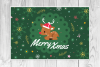 4 Christmas Cards, invitation flyer example image 4