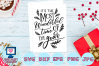 most wonderful time of the year svg, christmas svg, winter example image 1