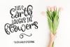 Blossomy - Font Duo Floral Doodles example image 3