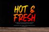 FresHot - Handwritten Display Font example image 4