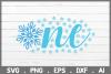 SALE! One Snowflake svg, winter svg, baby svg, newborn svg example image 1