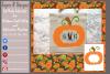 Pumpkin/ Monogram Pumpkin Frame Design File example image 8