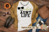 Rockin' the aunt Life svg cut file auntie svg New aunt svg example image 1