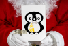 Penguin designs SVG / DXF / EPS / PNG Files example image 4