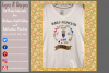 Keeper of the Gender / Gender Reveal T Shirt Design files example image 5