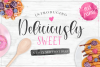 Deliciously Sweet Font Duo example image 1