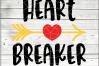 Heartbreaker Valentine Svg - 2 in 1 Boy Valentine svg - Baby example image 2