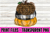 Stacked Pumpkins Buffalo Plaid - Argyl - Leopard Print File example image 1