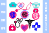 Nurse Monogram Bundle example image 1