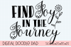 Inspirational SVG |Find Joy | Silhouette & Cricut Cut File example image 4