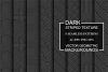 Dark striped geometric patterns example image 1
