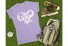 Gildan 64000L Ladies T-Shirt Camping Mockup Bundle Flat Lay example image 9