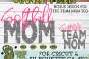 Softball Mom & Bonus Team Mom Sports SVG Cut File example image 4