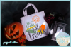 No Tricks Just Treats Halloween Candy Quote SVG example image 2