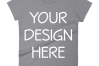 Anvil 880 Ladies Fit T-Shirt Mockups - 17 | PNG|3000x3000px example image 17
