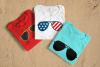 Patriotic and Regular Aviator Sunglasses SVG Design example image 2