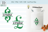 Saving for a Cruise Bank Design, Savings Series, SVG example image 1