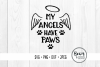 My Angels have Paws Pet Cut Files example image 1